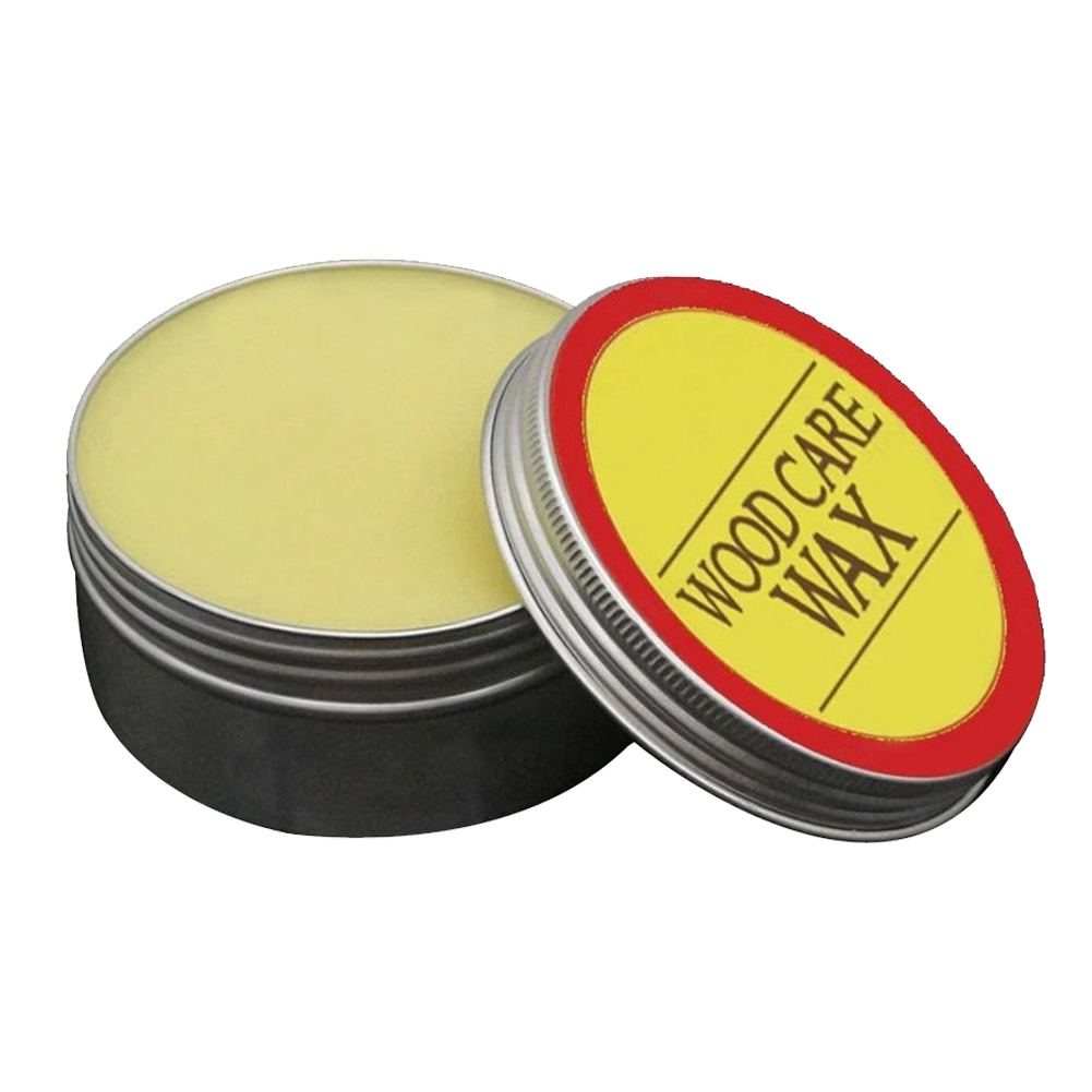 Crafts Natural Wood Beewax With Sponge Home Practical Cabinets Maintenance Furniture Care Wear Resistant Crack Proof Polishing