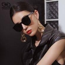 HURAMANN солнцезащитные очки женщин поляризованных Инс горячие продажи Красный ГМ же пункте солнцезащитные очки тени улицы снимал óculos-де-Сол 2020 VU400 новый