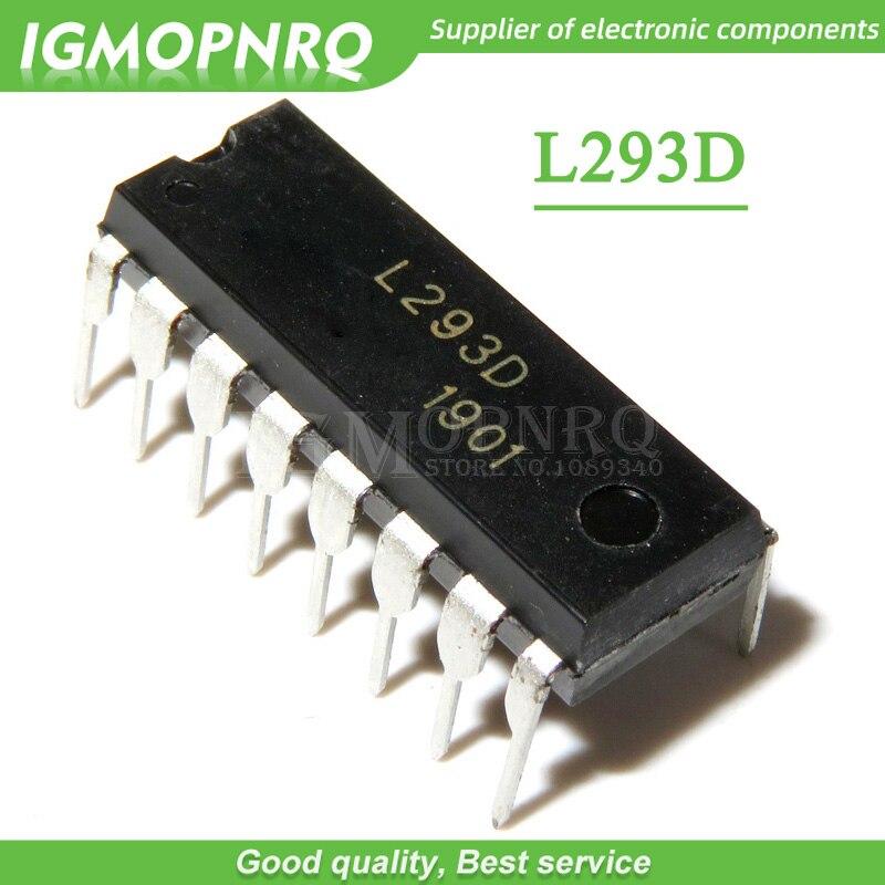 5 шт./лот L293 L293D DIP-16 чип шагового драйвера/Драйвер новый оригинальный Бесплатная доставка