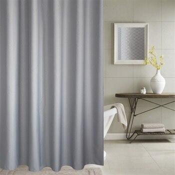 цена на Bathroom  Shower Curtain  3D Blackout Curtain Polyester  Shower Curtain Hotel High Quality Waterproof Hotel Bathroom Curtain