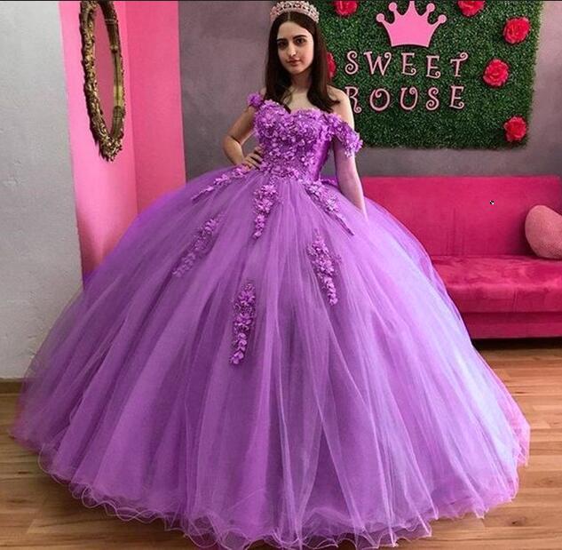 ANGELSBRIDEP przepiękna suknia balowa Quinceanera sukienki na 15 Party moda off-ramię aplikacja kopciuszek urodziny suknia Hot