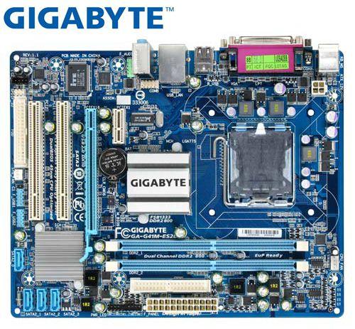 Gigabyte GA-G41M-ES2L Desktop Motherboard For Intel G41M-ES2L Integrated Graphics DDR2 LGA 775 Used Mainboard PC