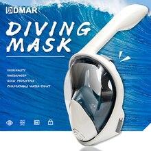 Маска для плавания подводный Анти-Туман Маска для подводного плавания панорамная маска для подводного плавания анфас маска для подводного плавания Для женщин Для мужчин детская Подводное очки