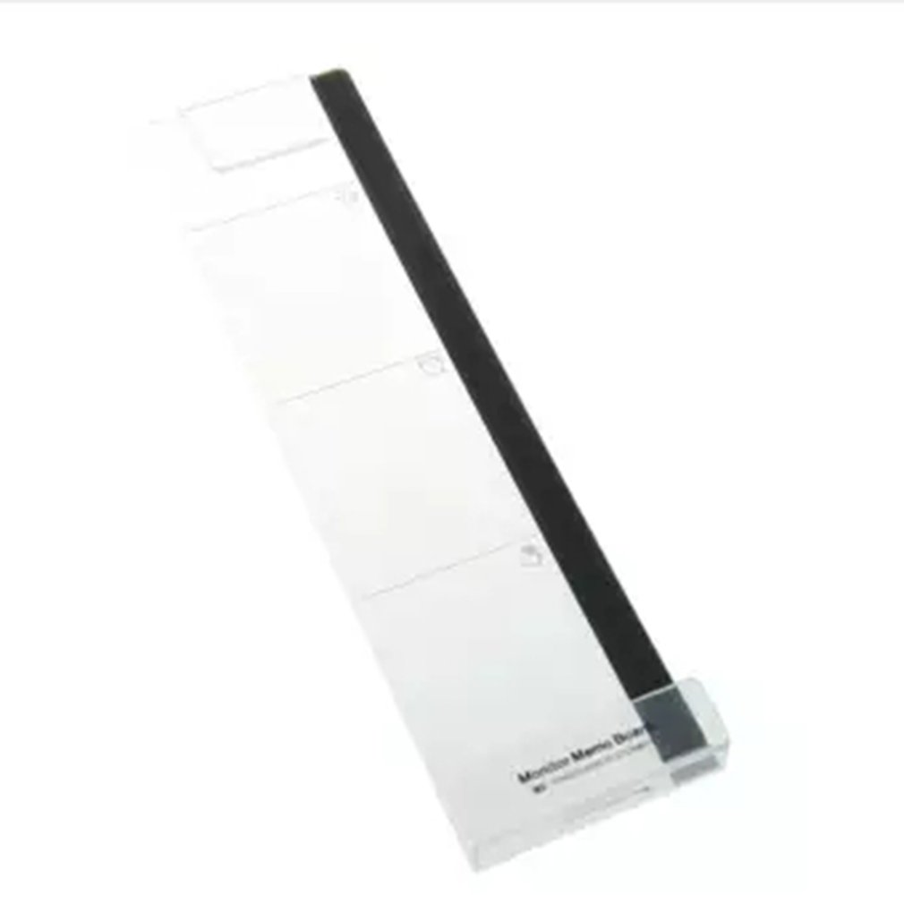 Right/Left Paste Computer Monitor Sticker Sticker Acrylic Screen Notes Record Clip Charging Hole Phone Holder Professional