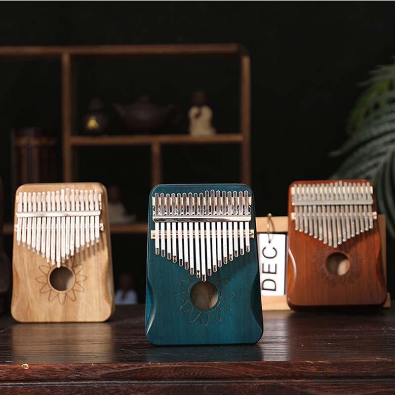 Kalimba 17 клавиш, фортепиано высокого качества, ручная защита, деревянный из красного дерева, музыкальные инструменты для тела, калимба, фортеп...