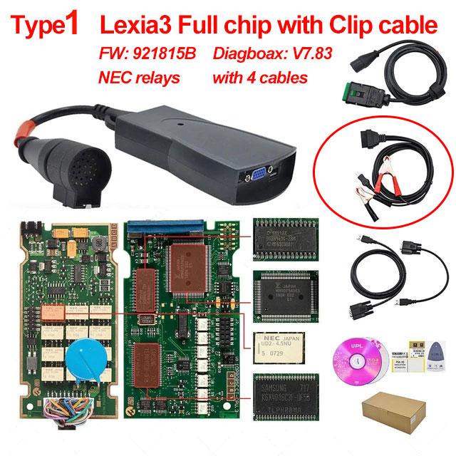 Lexia3 Full chip