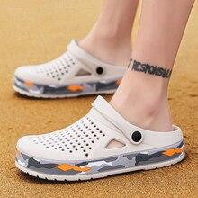 2020 New Fashion Summer Crocs Shoes Clogs Man Beach Sandals Crocks Man Shoes Gra