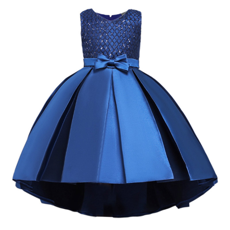 2019 Princess Party Dress For Girls Wedding Lace Flower Girl Dress  Birthday New Years Clothes 3 4 5 6 7 8 9 10 11 12 13 14 Year