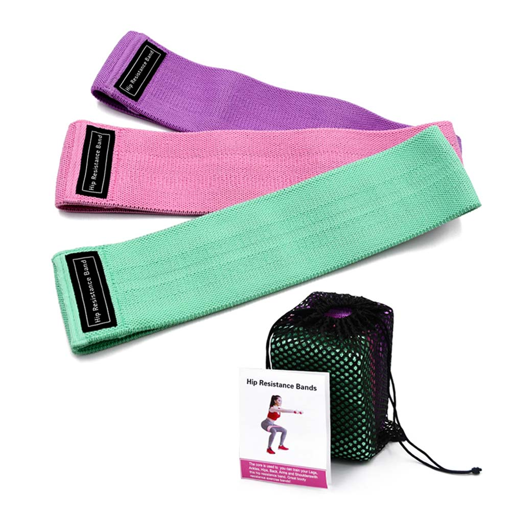New Durable Hip Lifting Resistance Bands Yoga Anti-slip Gym Fitness Rubber Band Exercises Braided Elastic Band Fitness Gum