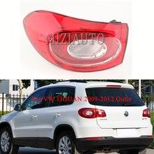 цена на Rear Tail Light Outer side for VW TIGUAN 2009-2012 Brake Light Warning Light Rear Bumper Light Tail Stop taillights assembly