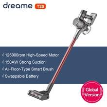 Dreame T20 aspirateur à main sans fil tout en un dépoussiéreur Portable sans fil 25kPa aspirateur de sol à forte aspiration