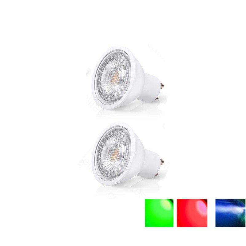 LED Lamp GU10 MR16 Gu5.3 LED Bulb  3W  5W 7W 220V/DC12v  Lampada LED Dimmable Lamp  RGB Spotlight Energy Saving Home Lighting