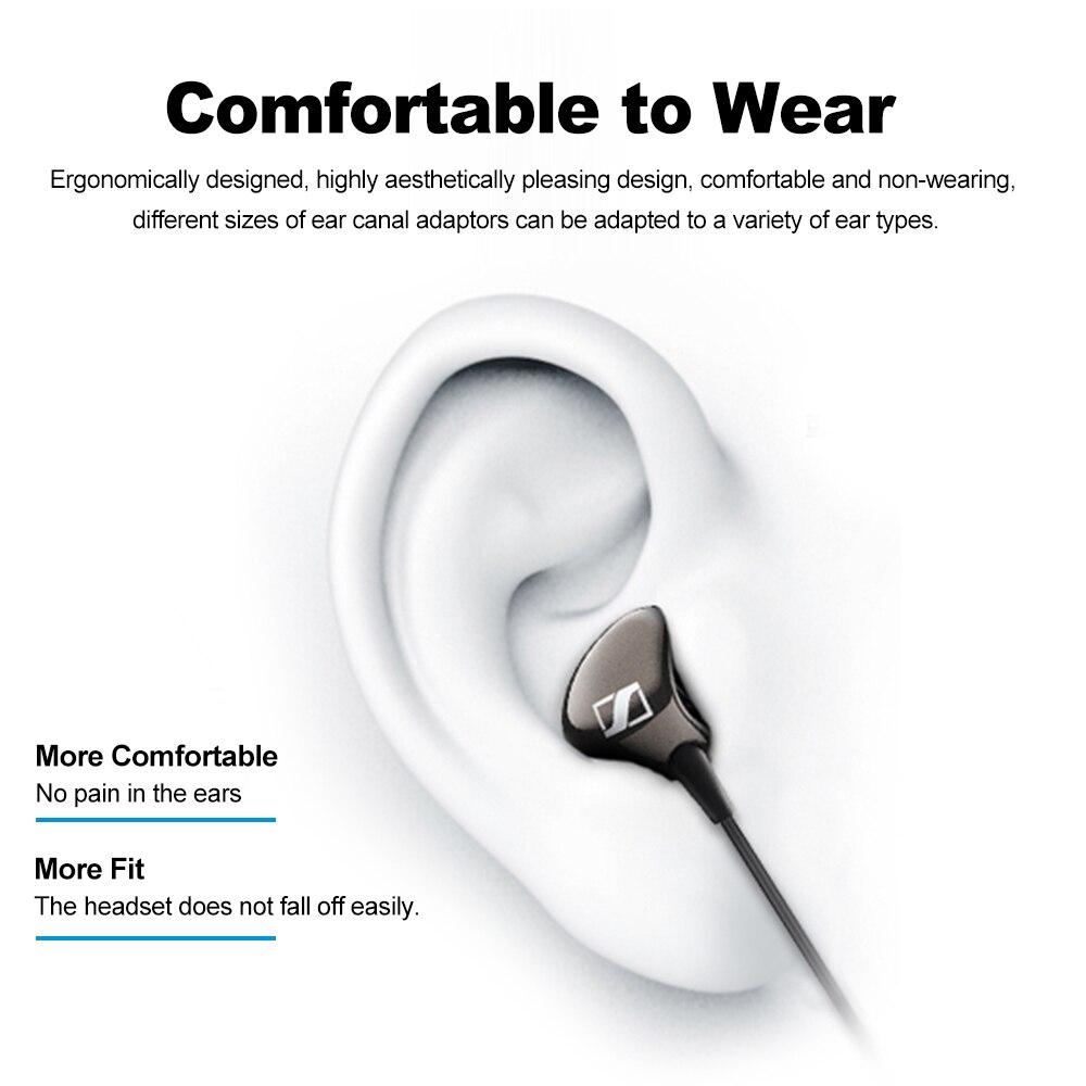 Sennheiser cx275s 3.5mm fones de ouvido estéreo