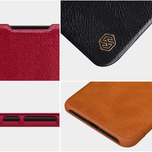 Image 3 - Caes for Xiaomi Mi 9 Lite CC9 CC9E CC 9 9E Nillkin Qin Series PU Leather Flip Cover For Xiaomi Mi A3 Case