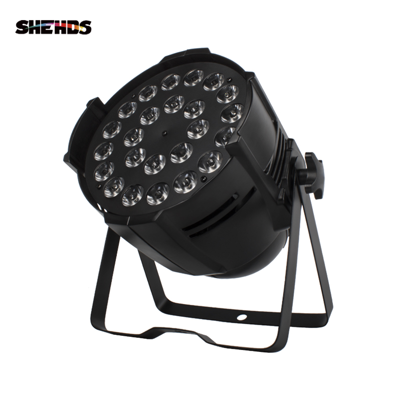 1PCS 24x18W RGBWA UV Led Par Lighting 6in1 DMX Aluminum 24x12W 4in1 DJ Disco Wash Effect 18x18W Professional Stage Light 18x12W
