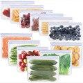 Silikon Lebensmittel Lagerung Container Set Frische Schüssel Tasse Tasche Mehrweg Stand Up Zips Geschlossen Tasche Obst Gemüse Tasse Mit Dichtung veranstalter