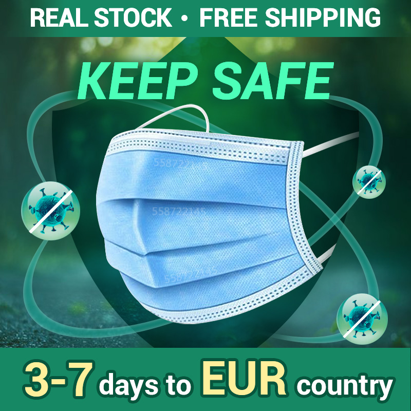 3 Layer Safety Mask Disposable Mask Mouth Mask Face Mask