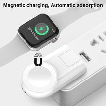 For Apple Watch Series 1 2 3 4 IWatch Portable Pocket Charger Mini Magnetic Wireless QI Charging Base