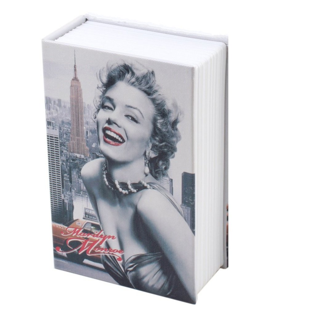 Exquisite Creative Book Safe Creative Book Insurance Box Money Box Book Small Key Box Creative Storage Gift Large Section