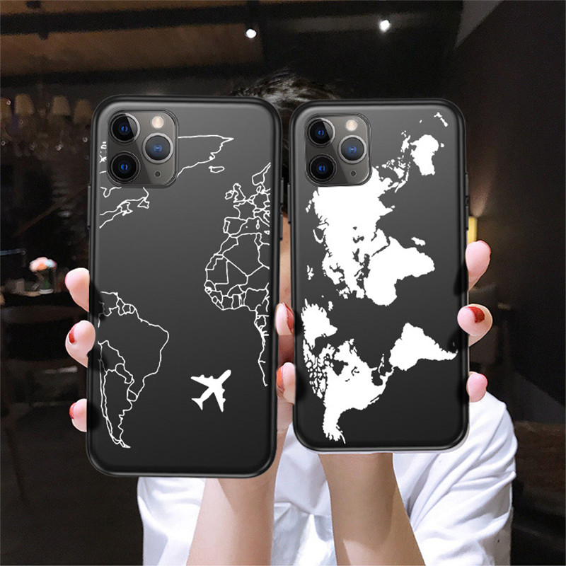 Lovebay Airplane Cartooon Cases For IPhone 11 Pro XS Max X XR Soft TPU Shockproof Shell For IPhone 7 8 6 6S Plus Protect Cover
