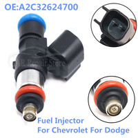 1x Nozzle Short 80LB Fuel Injector Cleaning For Chevrolet Dodge EV1 Style Engine Parts OEM 0280158051 FI114700 A2C32624700