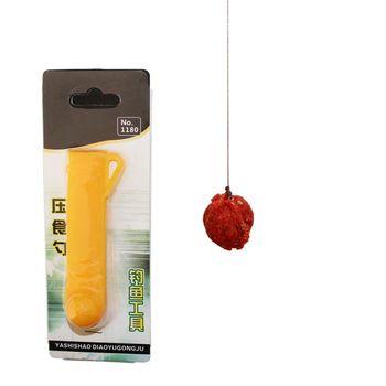 1Pc 9cm lekkie ciśnienie przynęty łyżka plastikowe łatwe do przenoszenia ciśnienie żywności narzędzie połowowe Fishing Gearymun tanie i dobre opinie 9 cm Zestaw naprawczy