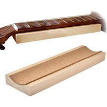 Электрическая гитара для игры в стиле фолк ухода за кожей Шеи Поддержка Деревянный аксессуар для гитары инструментальный гитарный струнный инструмент для ремонта