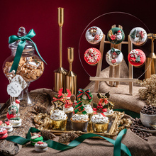 Donut Macaron-Model Scene-Decoration Dessert Simulation-Cake Christmas