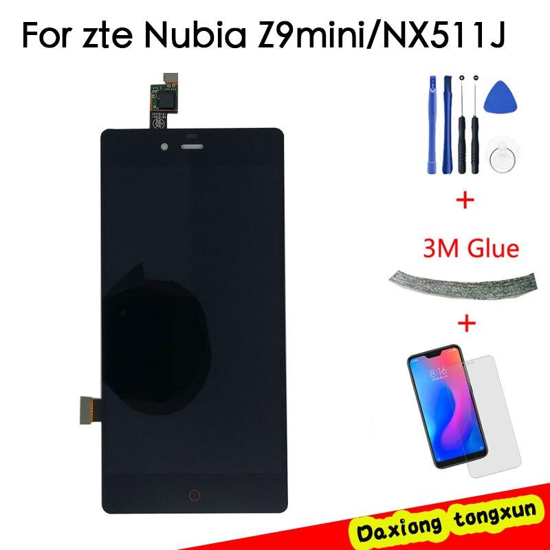 Без битых пикселей 5,0 ''ЖК дисплей для ZTE Nubia Z9 Мини ЖК дисплей NX511J сенсорный экран дигитайзер Запасные части