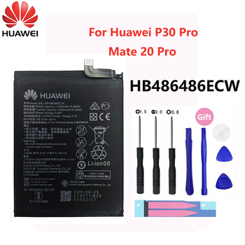 Hua Wei Original Replacement Phone Battery HB486486ECW 4200mAh For Huawei P30 Pro Mate 20 Mate20 Batteries