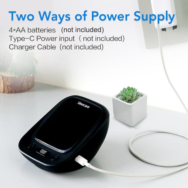 Blutdruckmessgerät für den oberen Arm mit Stimme und großem LED Display 5
