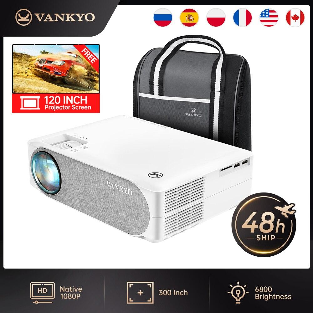 Vankyo HDMI проектор Native 1080P проектор 300