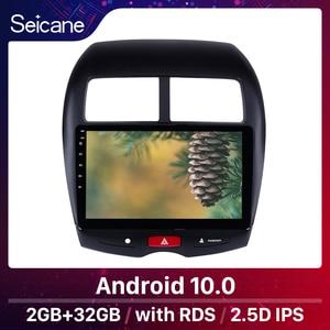 "Image 1 - Seicane 10.1 ""Android 10.0 Auto Gps Multimedia Radio Navi Speler Voor Citroen C4 2010 2011 2014 2015 Mitsubishi asx Peugeot 4008"