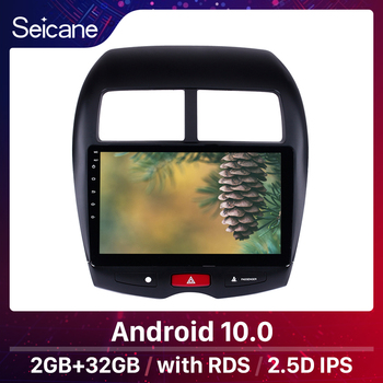 Seicane 10.1 Android 10.0 Car GPS multimedia Radio Navi player For CITROEN C4 2010 2011-2014 2015 Mitsubishi ASX Peugeot 4008 image
