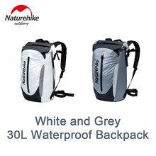 Naturehike Waterproof Backpack 30L High-Capacity Ultralight PVC Waterproof Outdoor Shoulder Storage Bag Camping Beach Drifting