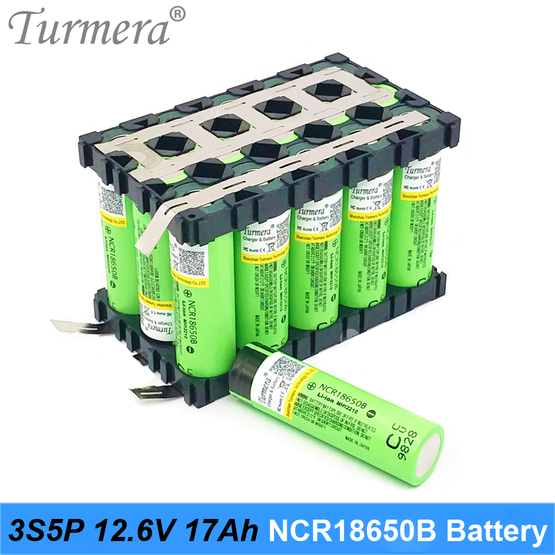 <font><b>3s</b></font> 12v <font><b>battery</b></font> 18650 <font><b>pack</b></font> ncr18650b 3400mah for 3s5p 17Ah welding <font><b>battery</b></font> for e-bike <font><b>battery</b></font> garden tool with holder customize image