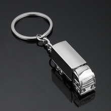 New Mini Metal Truck Key Ring Lorry Car Keyfob Keychain Creative Gift Lovely Keyring For Women Men