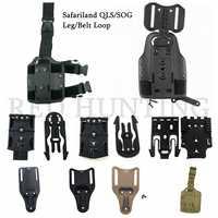 Taktische Bein/Gürtel Holster Drop Adapter Safariland QLS/SOG Clip Montieren Drop Bein Plattform Zubehör