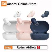2021 Xiaomi Redmi AirDots 3 Wahre Drahtlose Bluetooth 5,2 aptX Adaptive Stereo Bass Mit Mic Freisprecheinrichtung TWS Ohrhörer PK Airdots S