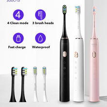 Electric Toothbrush Sonic Rechargeable Adult Waterproof Soocas X3u USB Fast