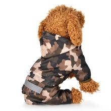 Для щенков дождевые дождевик для собак с капюшоном светоотражающая