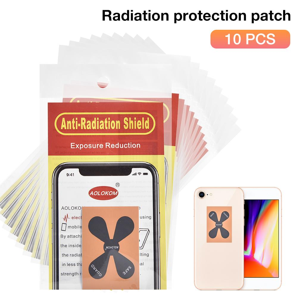 10PCS/Set Phone Quantum Shield Sticker Radiation Protector Film Anti Radiation Stickers for Smartphone Home Radio Supplies
