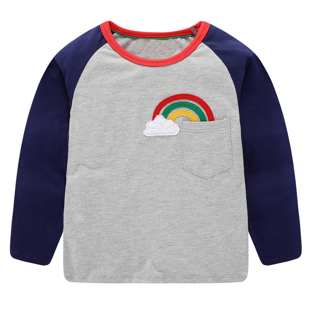 Baby Boys T shirts for Kids Clothing Autumn Winter Children T shirt for Boy Clothes Animal Pattern Toddler Tops Tee Shirt Fille 7