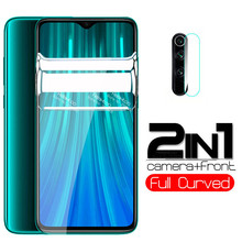 2 in 1 200D Hydrogel Soft protective Film For xiaomi redmi note 8 pro 8T 7 8a 7a note8 t camera lens screen protector not glass