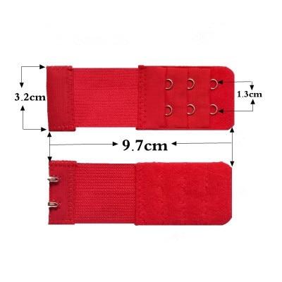 Лидер продаж, бюстгальтер, расширитель, 2 ряда, 3 ряда, 4 ряда, женское регулируемое нижнее белье, удлиненный бюстгальтер, застежка-крючок, пояс-удлинитель для бюстгальтера - Цвет: A1