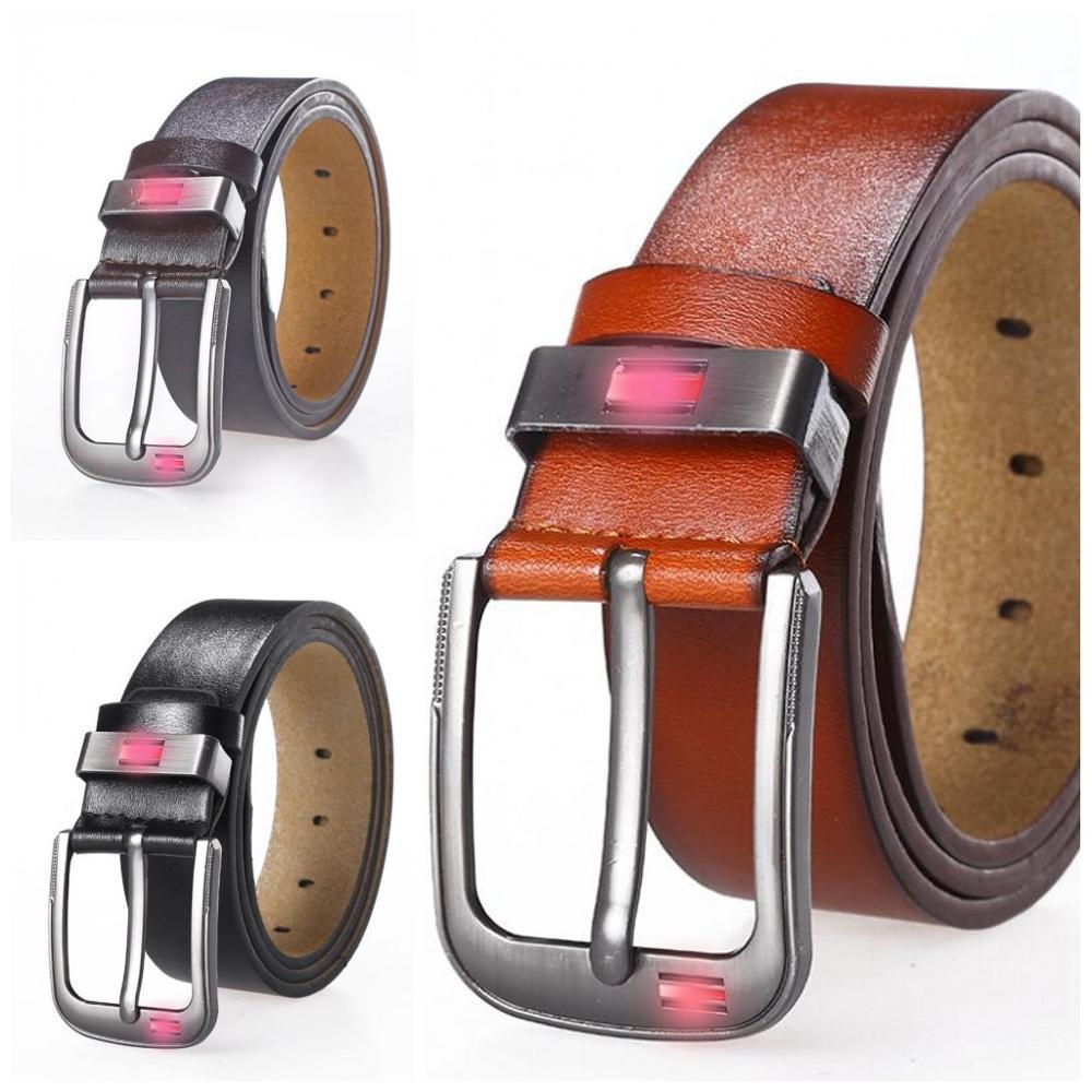 2020 Spring New Casual Retro Pu Microfiber Leather Belt Washed Belt Men's Leather Belt 120cm Luxury Belts For Men Ceinture Homme
