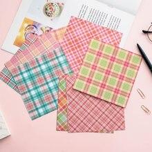 12pçs papel de fundo de caixa de material, diário, planejador de diário, álbum de recortes, papel decorativo diy, artesanato