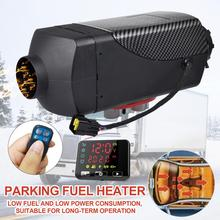 12V/24V Black Car Heater 2KW Defroster Air Diesel Heater Low Noise CE Auxiliary Warmer Webasto With LCD Display Remote Control