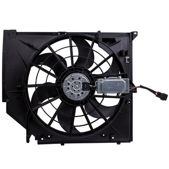 Cooling Fan Assembly For BMW 325 323 328 330 E46 3 Series 325i 99-06 17117561757 image