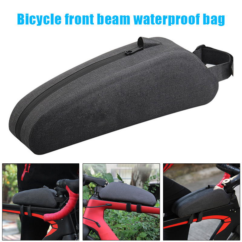 Newly Bicycle Bag Waterproof Zipper Large Capacity Front Beam Riding Accessories Equipment SD669